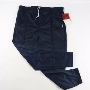 Vintage New Umbro Tapered Leg Sweatpants Navy Blue